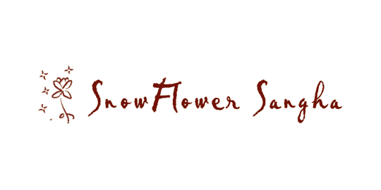 logo for SnowFlower Sangha