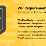 Webman Design is WP Requirements Compliant